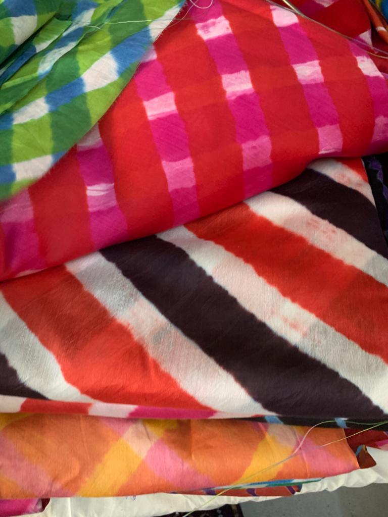 Bandhani/ Leheriya/ Shibori/ Tie-Resist Dyeing of Rajasthan