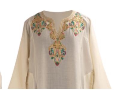 Tila/ Dori/ Metallic Embroidery of Kashmir