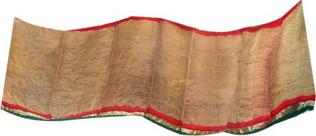 Rice Straw Sari