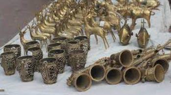 Dhokra/ Lost Wax Metal Casting of Telangana