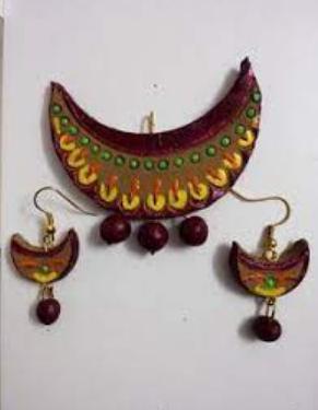 Terracotta Jewellery and Jewelled Objects of Uttar Pradesh