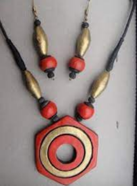 Terracotta Jewellery and Jewelled Objects of Pondicherry