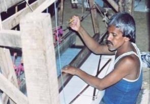 Handloom Weaving in Waraseoni