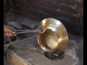 Brass and Copper Craft/Tambaat kaam of Gujarat