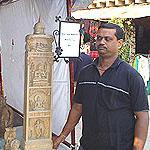 Wood Carving of Basti Pathuria Sahi, Odisha