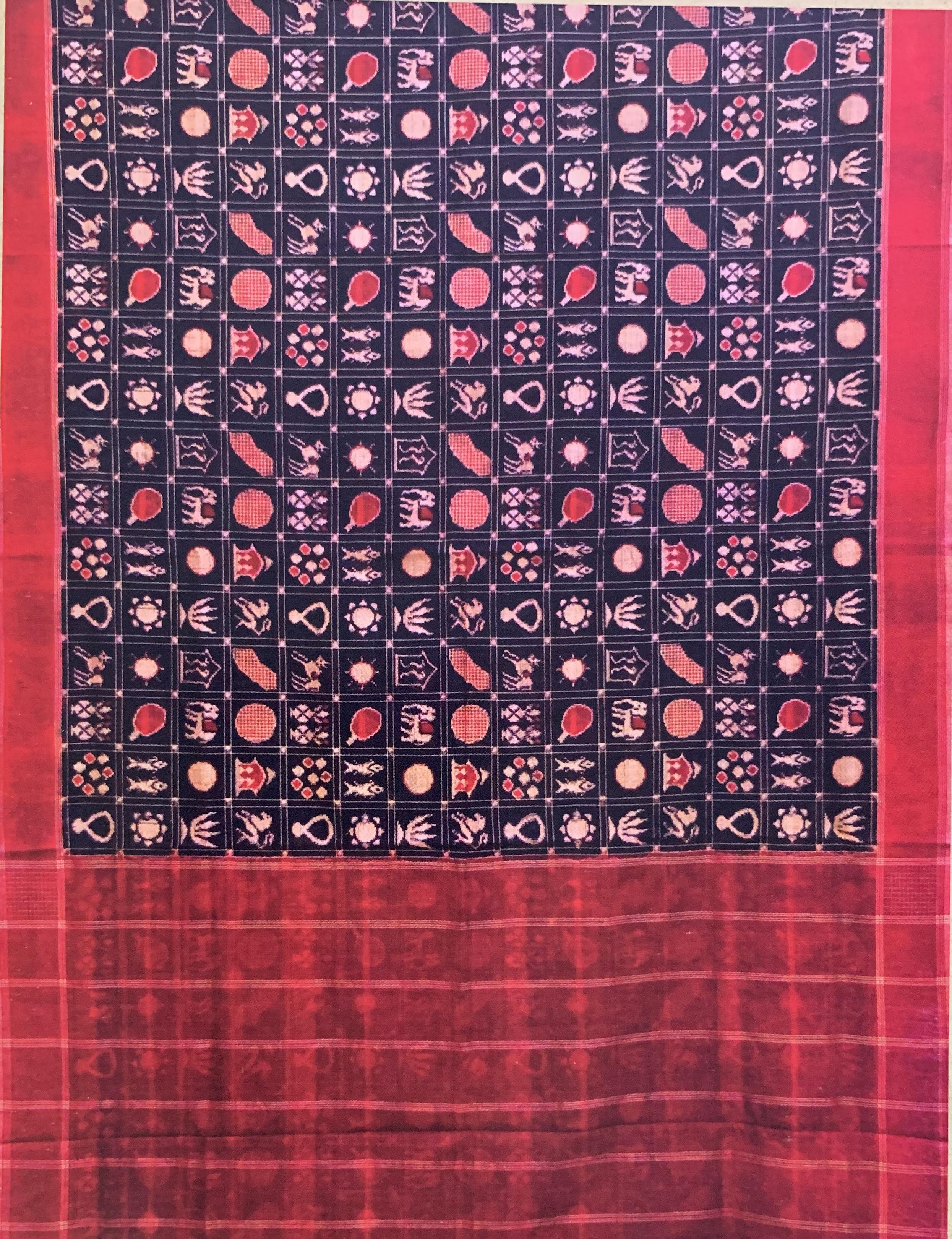 Telia Rumal/Ikat Weaving
