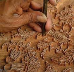 Block Making in Wood for Hand Printing of Rajasthan