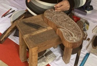 Block Making in Wood for Hand Printing of Delhi