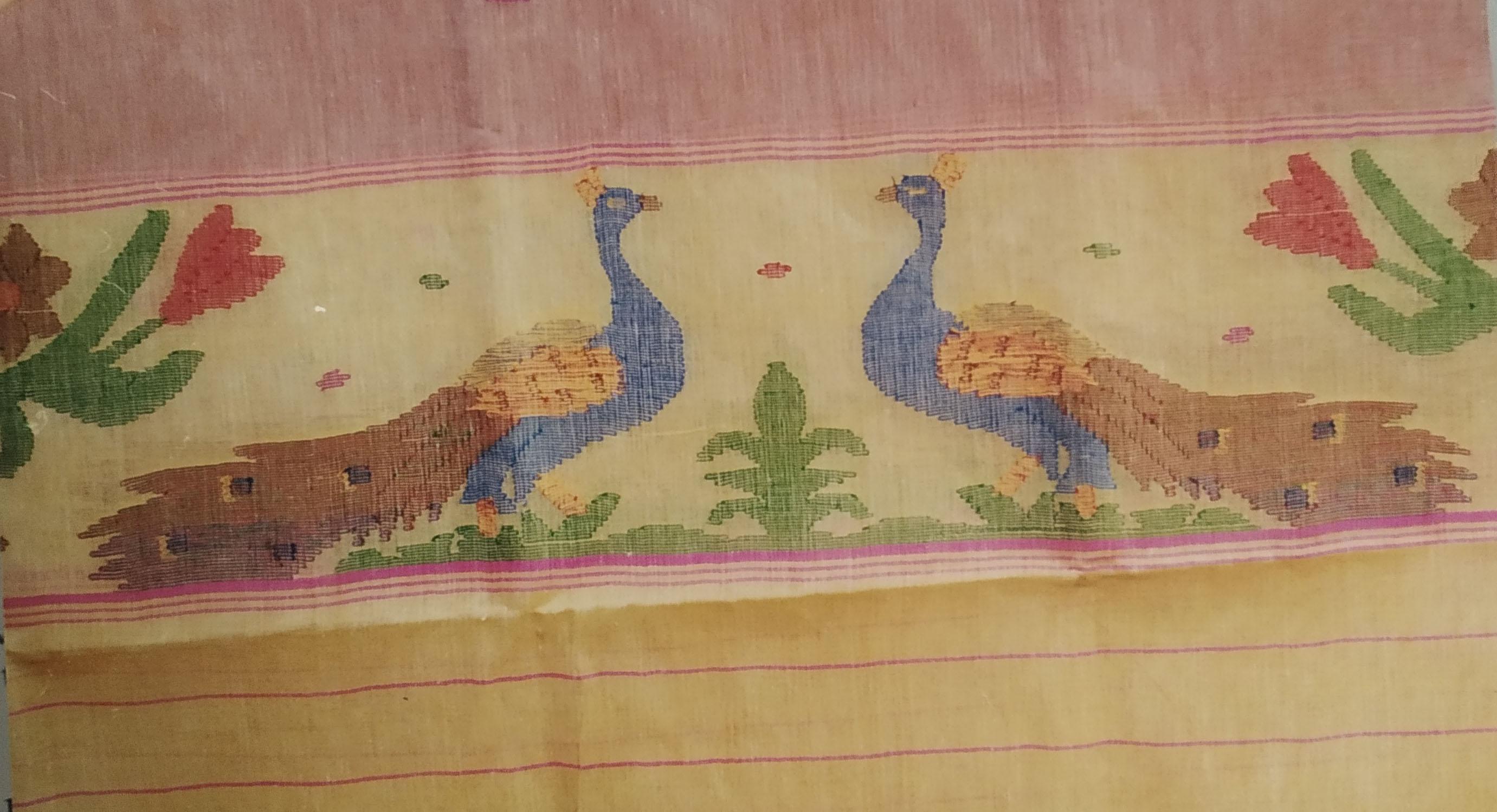 Wangkhei Phee/ Jamdani Weaving of Manipur