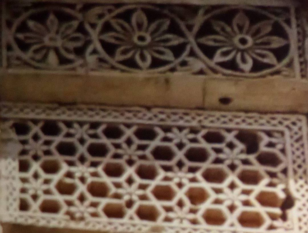 Architecture Stone Jali/ Lattice Work Saurashtra, Gujarat