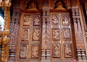 Architecture Wood Carving of Saurashtra, Gujarat
