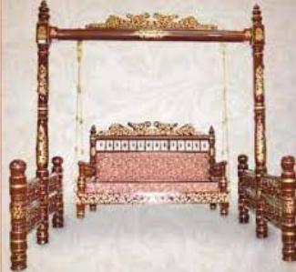 Painted Wood/ Nirmal Furniture of Telangana