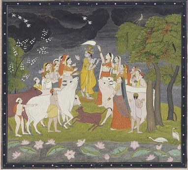 Kangra Paintings of Himachal Pradesh