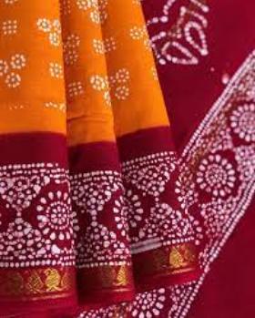 Madurai Sungudi/ Tie-Dye of Tamil Nadu