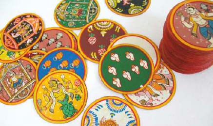 Ganjifa cards of Mysore (Karnataka)