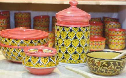 Khurja Pottery