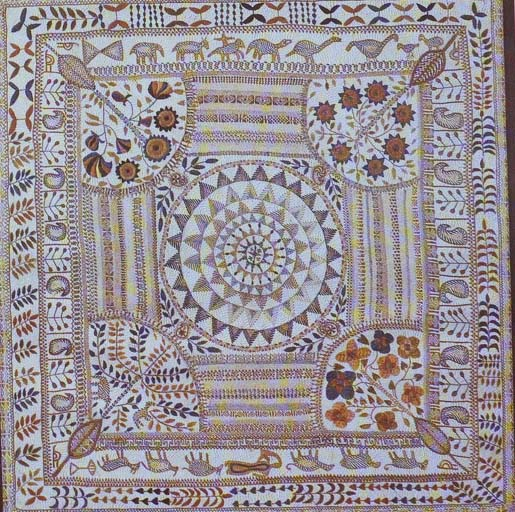 Nakshi Kantha of West Bengal