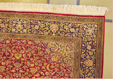 Kashmiri Hand-Knotted Carpet