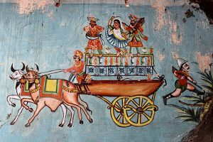 Kamangari Wall Paintings of Gujarat