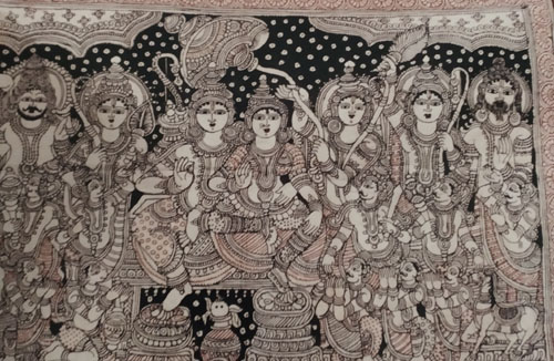 Kalamkari of Sickinaickanpettai