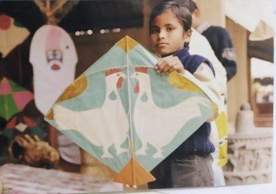 Paper Kites of Delhi