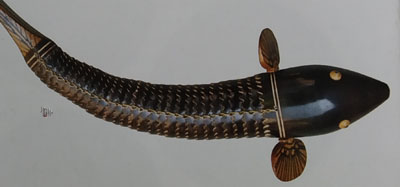 Flexible Fish Brass and Wood of Odisha
