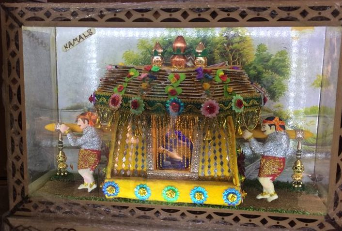 Diorama Crafting of Delhi