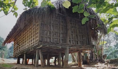 Garo Bamboo House of Meghalaya