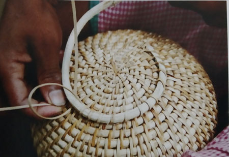 Coiled Cane Craft of Assam