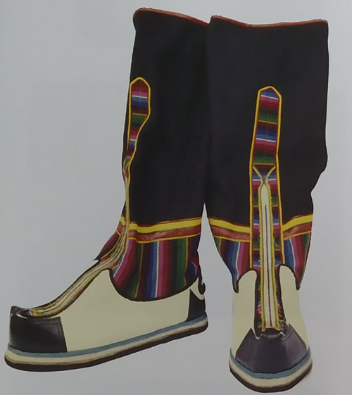 Konglan – Stiched Boots of West Bengal