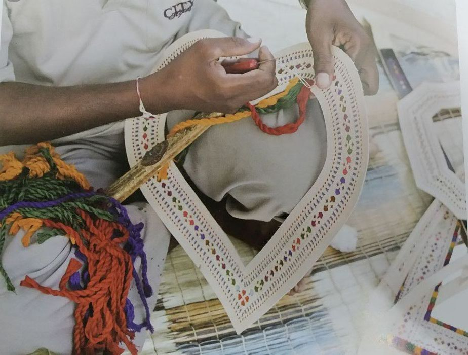 Latticed Leather Craft of Gujarat
