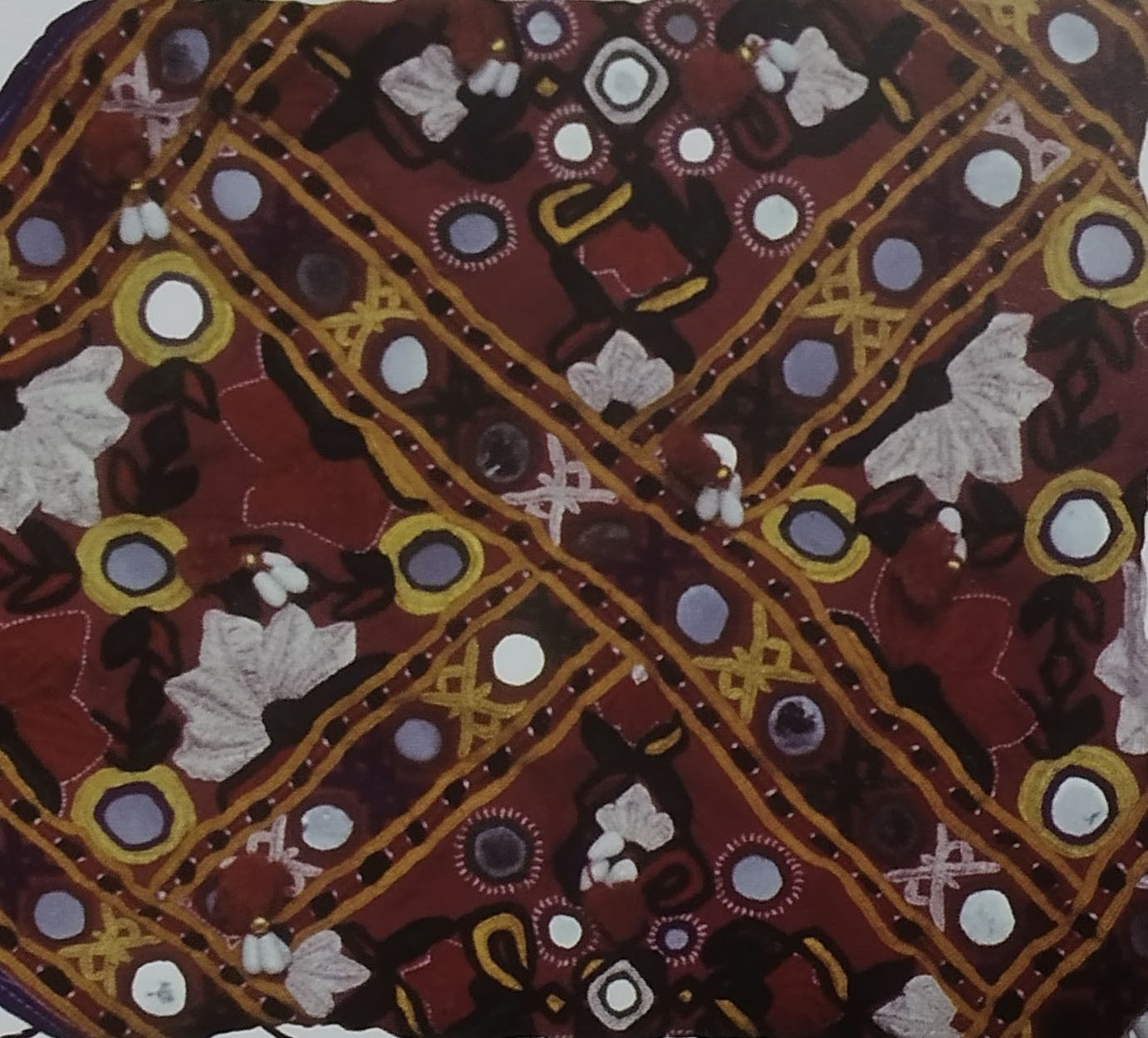Paako Embroidery of Gujarat