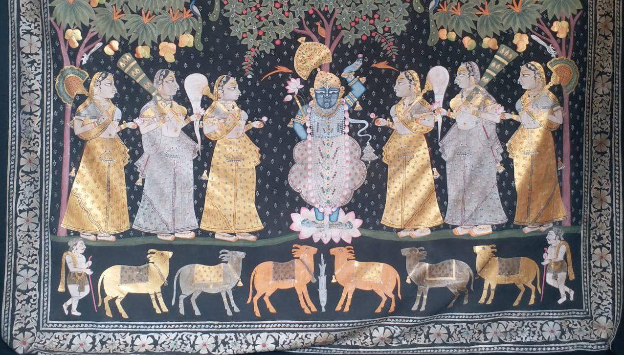 Pichhwai of Nathdwara, Rajasthan