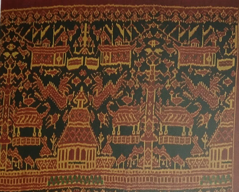 Mudmee Silk Temple Hanging