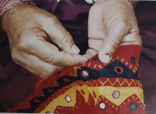 Banjara Tribal Embroidery and Mirror Work of Telangana