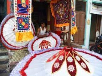 Ritual Umbrellas/ Kovil  Kodais of Chintadripet, Tamil Nadu