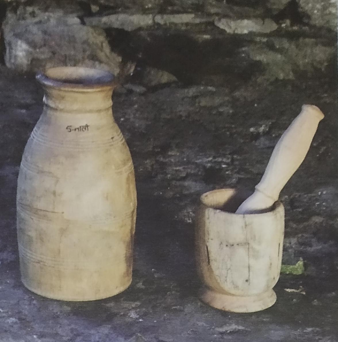 Water Lathe Wood Craft of Uttarakhand