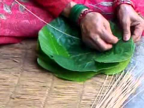 Nepal's Sustainable Practice of Leaf Plates