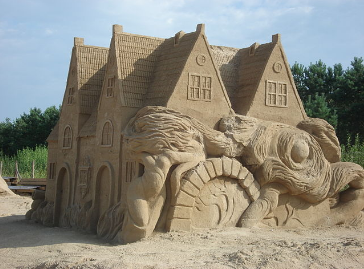 Sand Sculptures of India