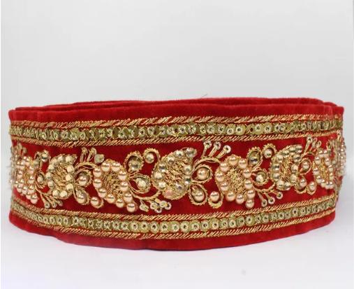 Kundan Zari, Zardozi, Metallic Thread Embroidery of Rajasthan