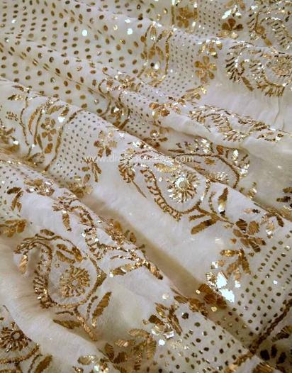 Mukaish / Badla / Metallic Embroidery of Lucknow, Uttar Pradesh