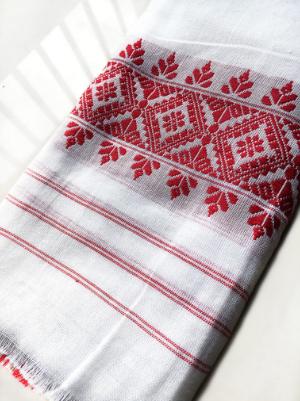 Gamosa/ Sacred Cloth of Assam