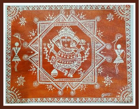 Mandana / Wall and Threshold Art of Rajasthan