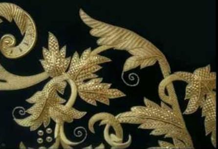 Kasav/ Kasab Work/ Metallic Thread Embroidery of India