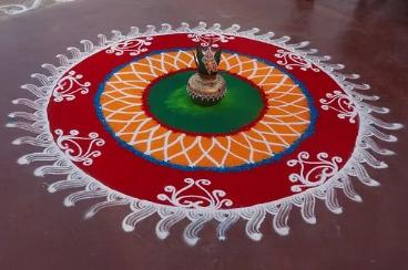 Rangoli/ Kolam/ Threshold Arts of India